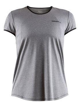 Craft Eaze short sleeve running shirt grey women