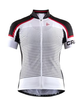 Craft Empress short sleeve cycling jersey white women