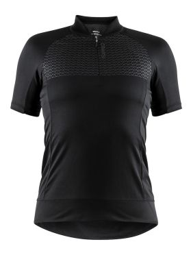 Craft Rise cycling jersey black women