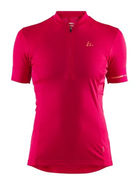 Craft Point cycling jersey red/jam women
