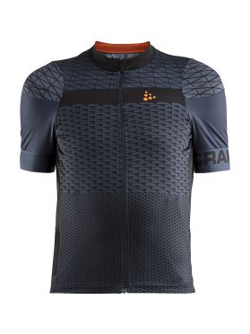 Craft Route cycling jersey short sleeve dark blue men