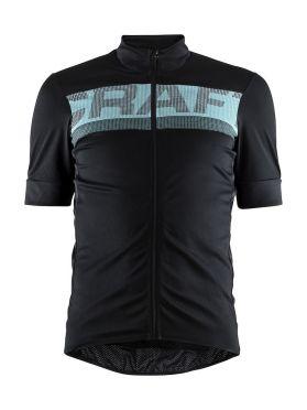Craft Reel cycling jersey black/blue men