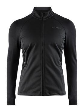 Craft Urban run fuseknit running jacket black women