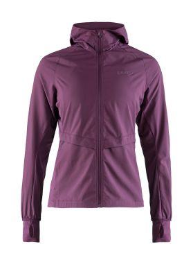 Craft Urban run hood running jacket purple women