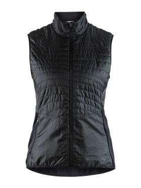 Craft Urban run body warmer running jacket black women
