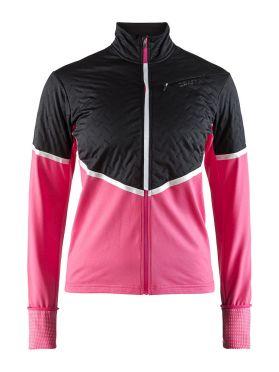 Craft Urban run thermal wind running jacket black/pink women