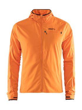 Craft Urban run hood running jacket orange men