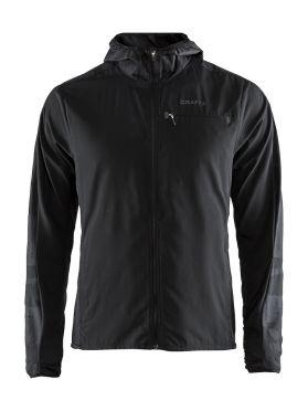 Craft Urban run hood running jacket black men
