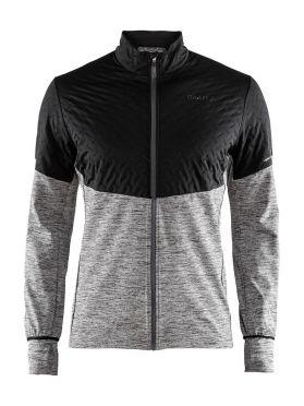 Craft Urban run thermal wind running jacket black/grey men