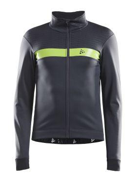 Craft Route jacket grey/yellow men