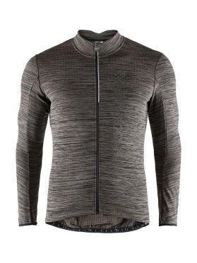 Craft Velo thermal 2.0 long sleeve cycling jersey black men
