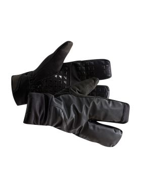 Craft Siberian 2.0 Split finger bike gloves black unisex