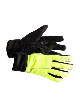 Craft Siberian 2.0 bike gloves yellow/black unisex
