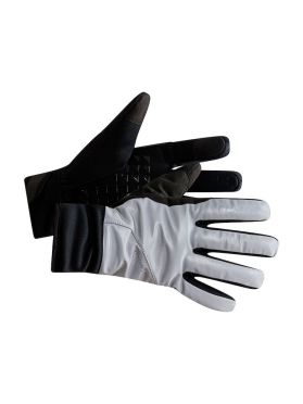 Craft Siberian 2.0 glow bike gloves silver unisex