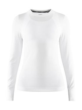 Craft Fuseknit comfort long sleeve baselayer white women