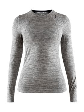 Craft Fuseknit comfort long sleeve baselayer grey women