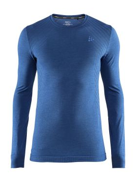 Craft Fuseknit comfort long sleeve baselayer blue men
