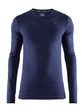 Craft Fuseknit comfort long sleeve baselayer maritime men