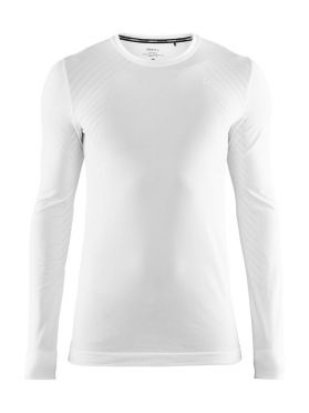 Craft Fuseknit comfort long sleeve baselayer white men