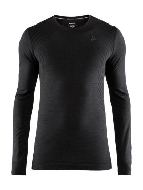 Craft Fuseknit comfort long sleeve baselayer black men
