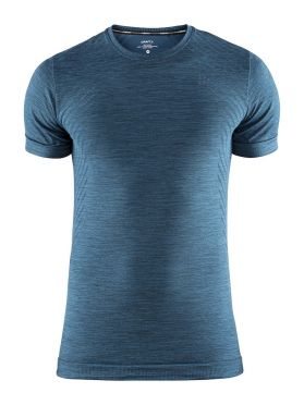Craft Fuseknit comfort short sleeve baselayer blue/fjord men