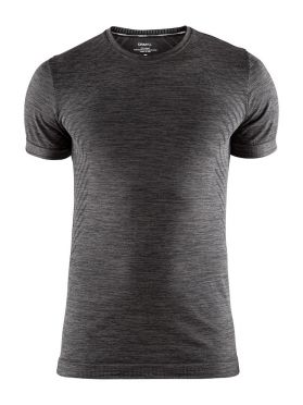 Craft Fuseknit comfort short sleeve baselayer dark grey men
