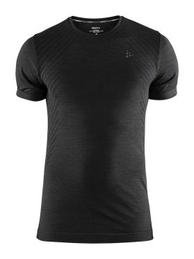 Craft Fuseknit comfort short sleeve baselayer black men