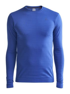 Craft Warm comfort long sleeve baselayer blue men