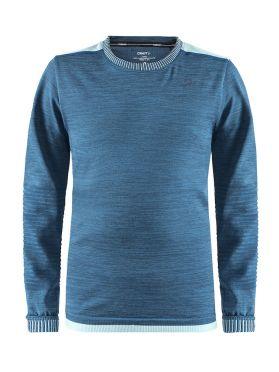 Craft Fuseknit comfort long sleeve baselayer blue junior