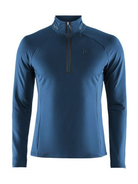 Craft Prep halfzip ski mid layer blue men