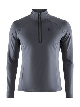 Craft Prep halfzip ski mid layer grey men
