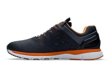 Craft V175 Fuseknit running shoes black/orange men