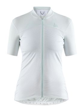 Craft Hale Glow cycling jersey white women