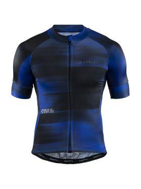 Craft CTM Aerolight cycling jersey blue/black men
