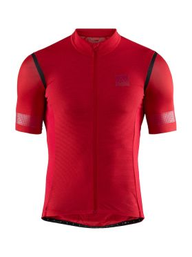 Craft Hale Glow cycling jersey red men