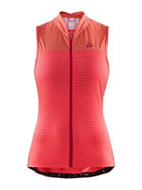 Craft Hale Glow SL cycling jersey pink women