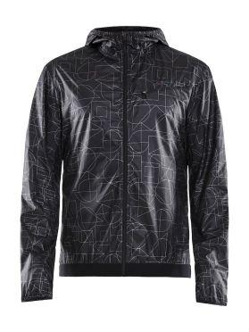 Craft Lumen wind running jacket black men