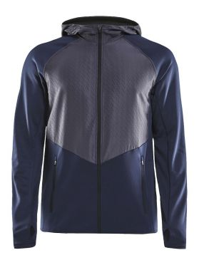 Craft Charge Sweat hood running jacket blue men