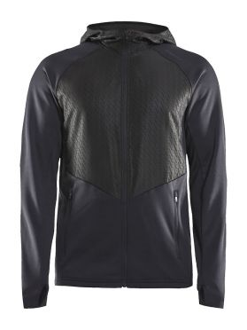Craft Charge Sweat hood running jacket black men