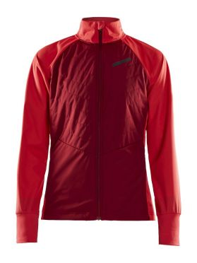 Craft Storm balance cross-country ski jacket red women