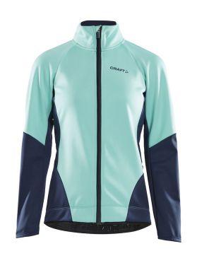Craft Ideal jacket cyan/blue women