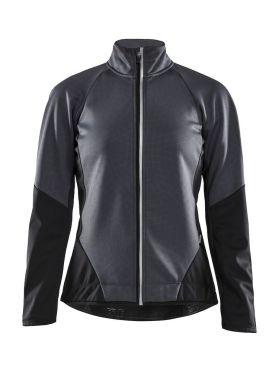 Craft Ideal jacket grey/black women
