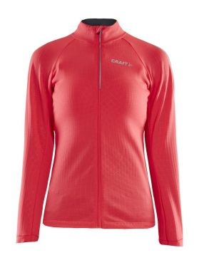 Craft Ideal Thermal cycling jersey long sleeve pink women