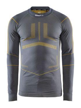 Craft Active Intensity CN long sleeve baselayer grey/yellow men