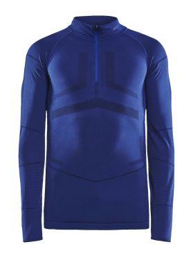 Craft Active Intensity zip long sleeve baselayer blue men