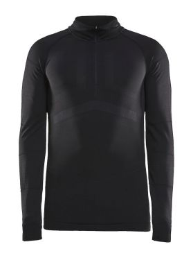 Craft Active Intensity zip long sleeve baselayer black men