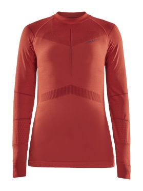 Craft Active Intensity CN long sleeve baselayer red women
