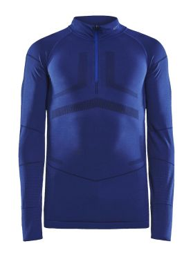 Craft Active Intensity zip long sleeve baselayer blue women