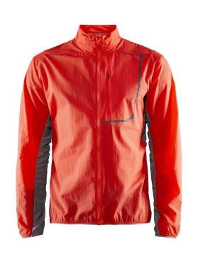 Craft Vent Pack running jacket red men