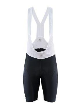 Craft Surge Lumen bib shorts black/white men